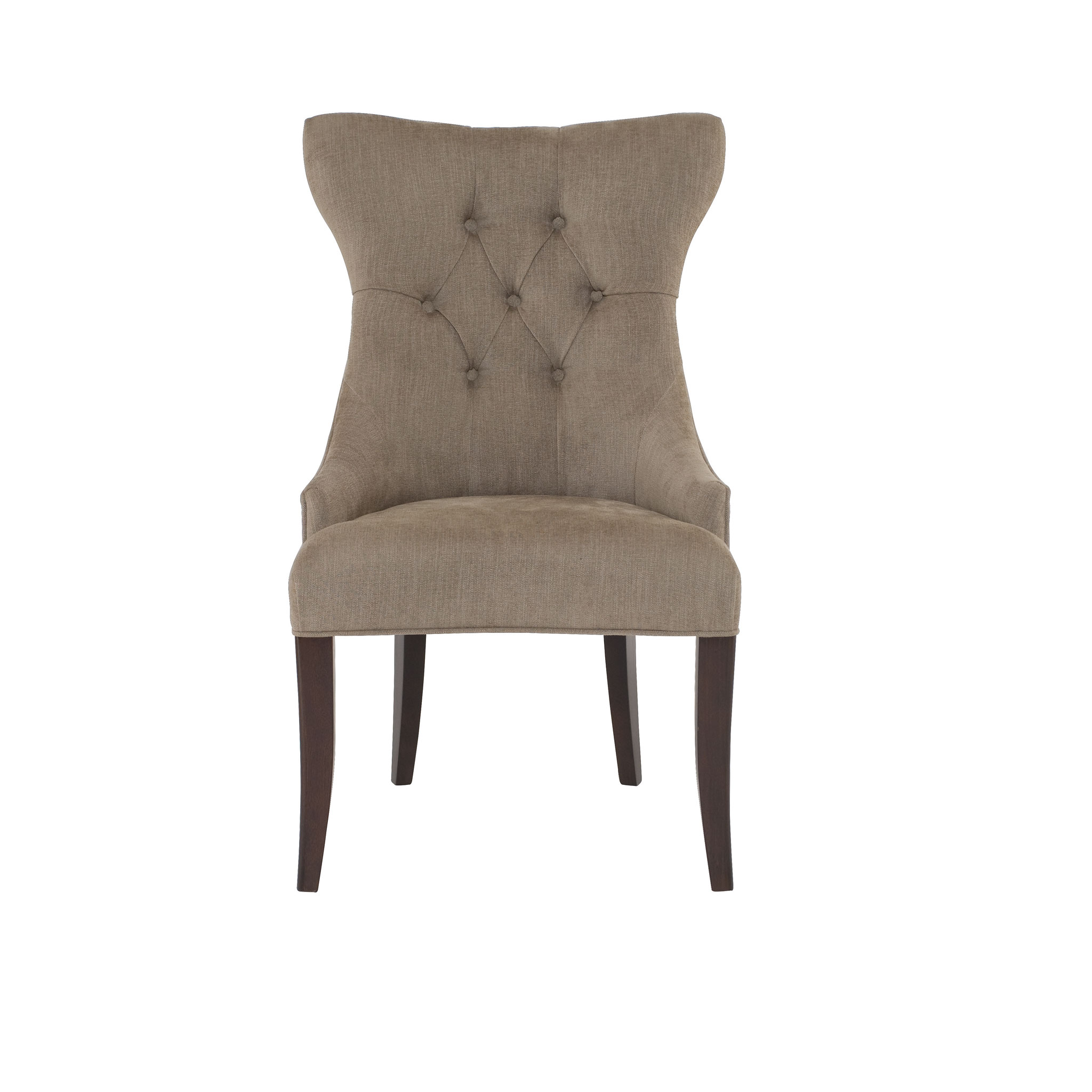 Deco tufted back chair