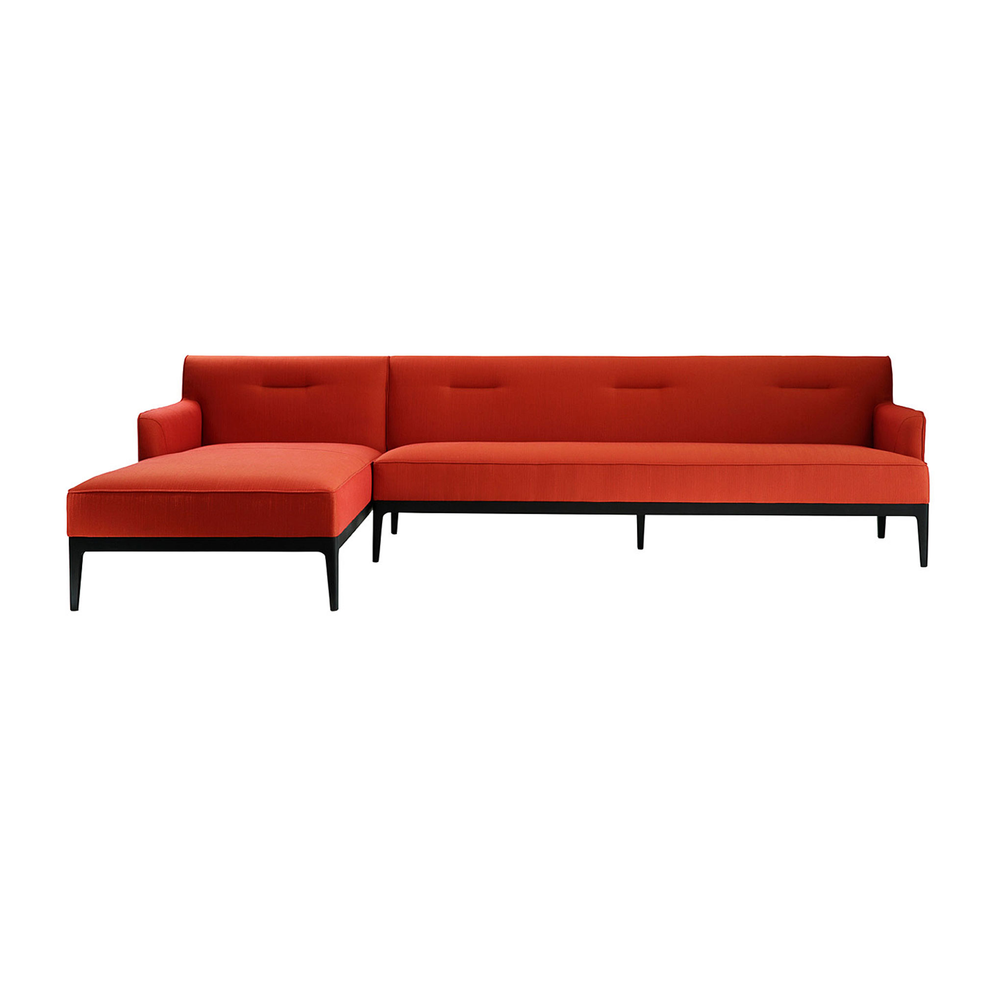 and in sofa with images modern sectional black furniture magnificent cool leather chaise