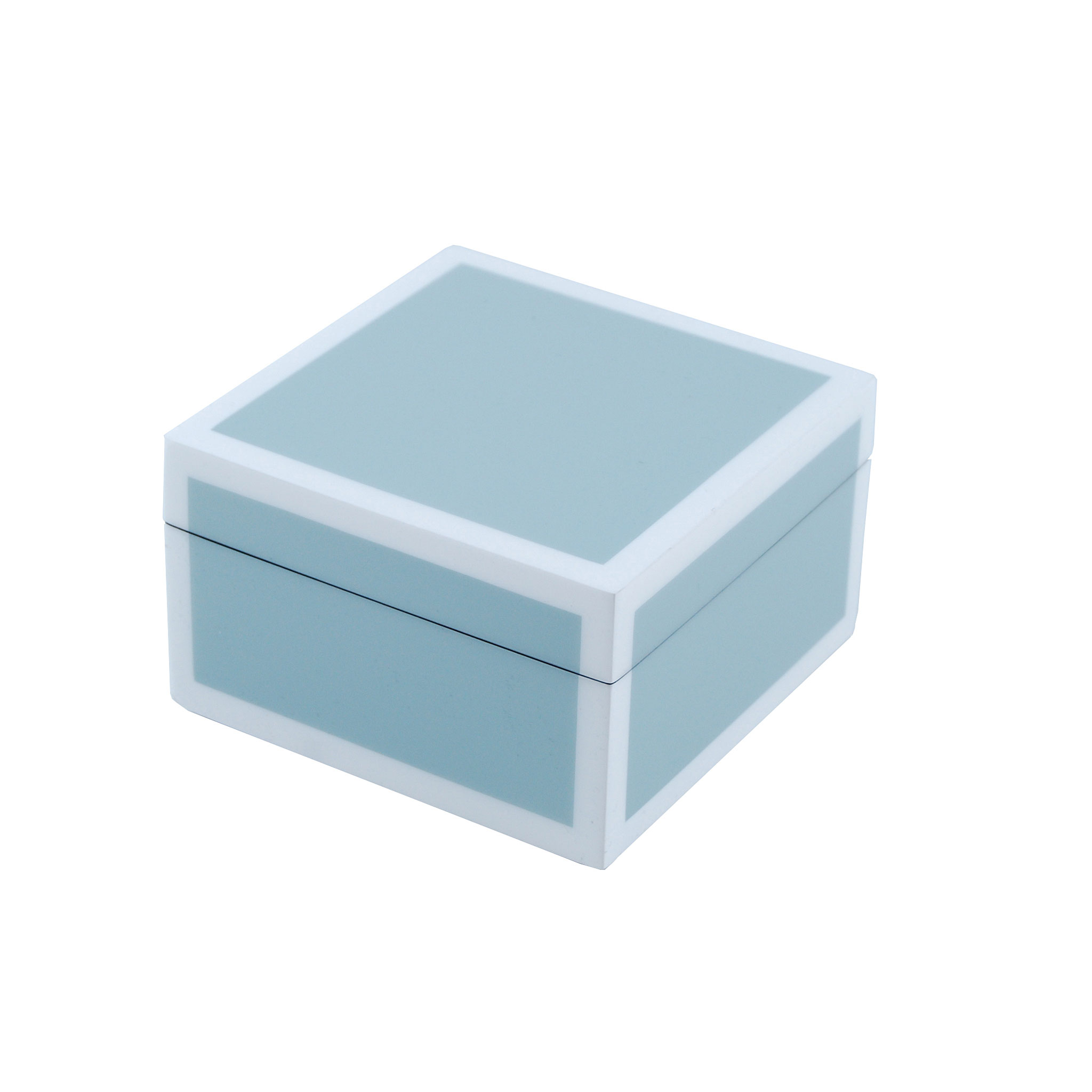 square box cool grey white domo