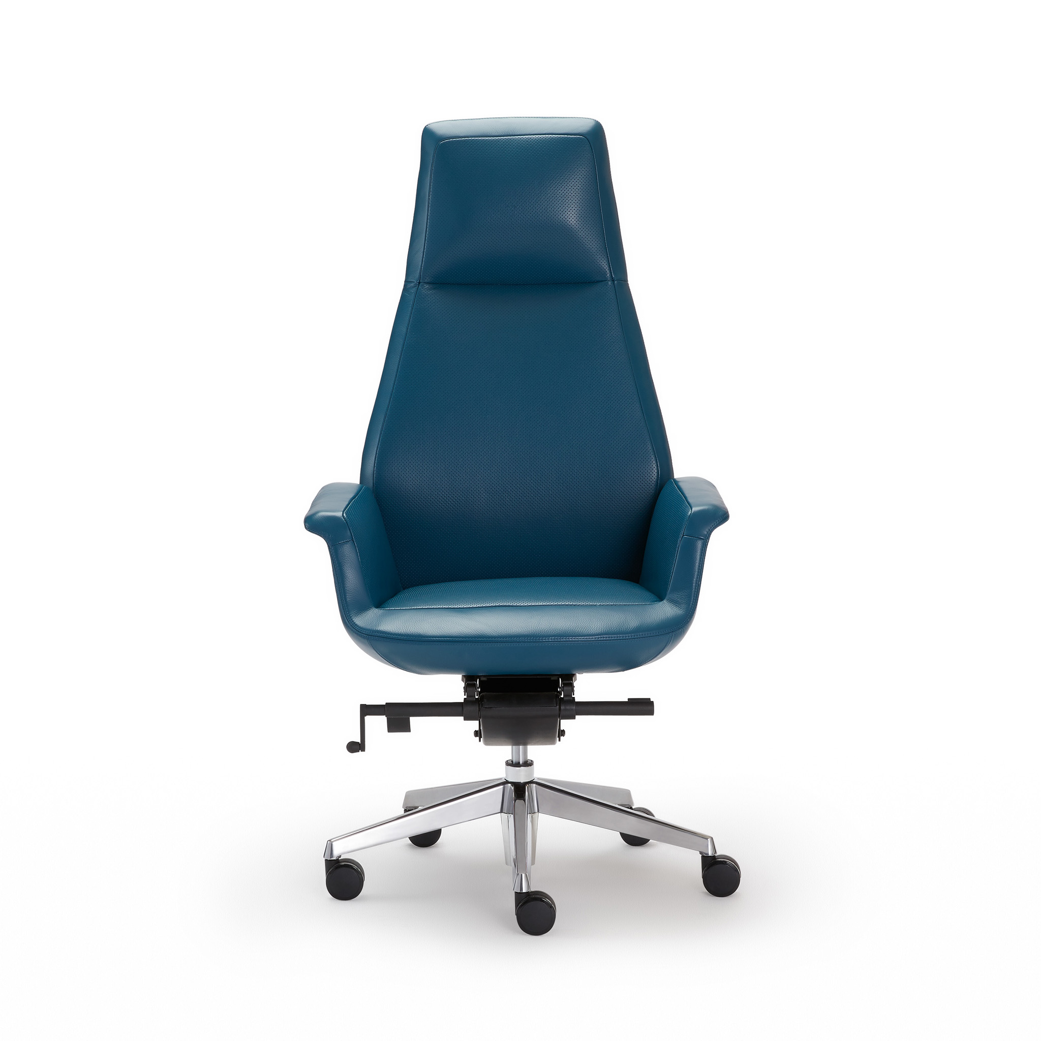 Incredible Executive Leather Desk Chair Blue Dailytribune Chair Design For Home Dailytribuneorg