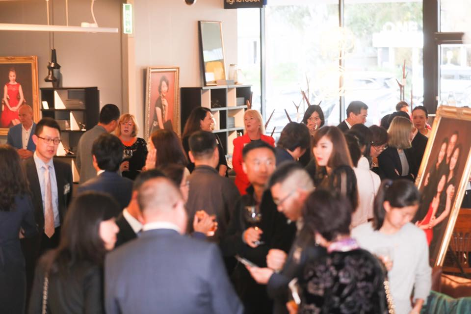 DOMO event with Maggie Li