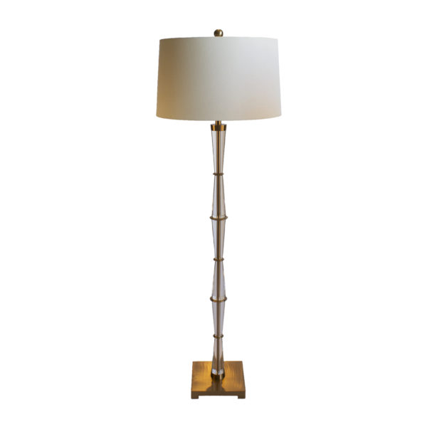 Shop domos favourite table and floor lamps domo the crystal floor lamp by domo is a show stopper this addition will make any room look complete and add a touch a luxury mozeypictures Gallery
