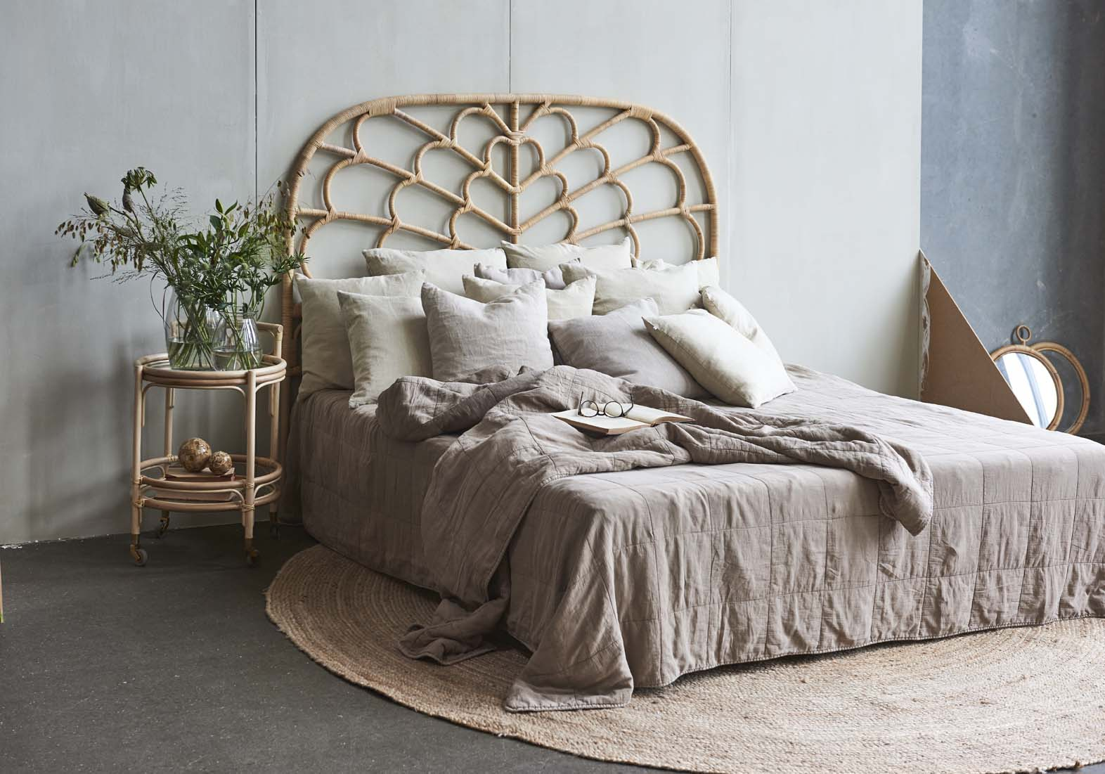 New From Sika Design Rattan Headboards And Baskets Domo