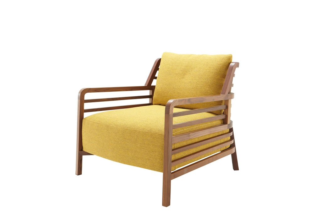 flax lounge chair domo. Black Bedroom Furniture Sets. Home Design Ideas